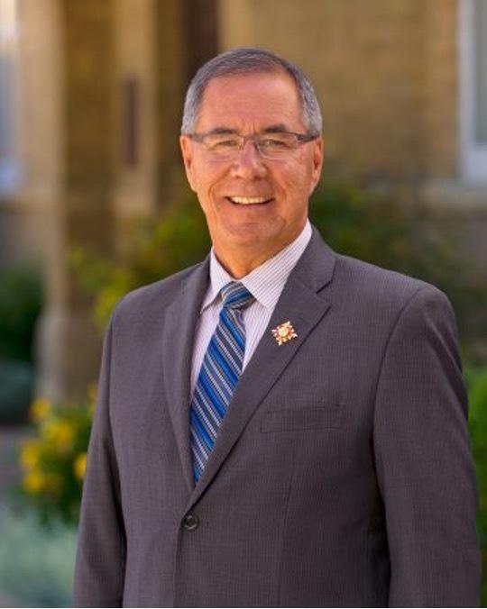 Portrait of Russ Mirasty Lieutenant Governor of Saskatchewan